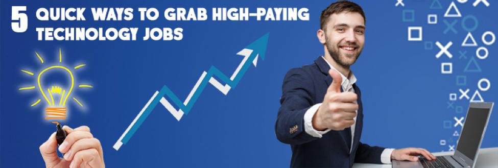 5 Ninja Tactics to Get a High-Paying Technology Job!