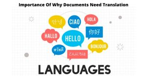 Why Documents Require Professional Translation Services?