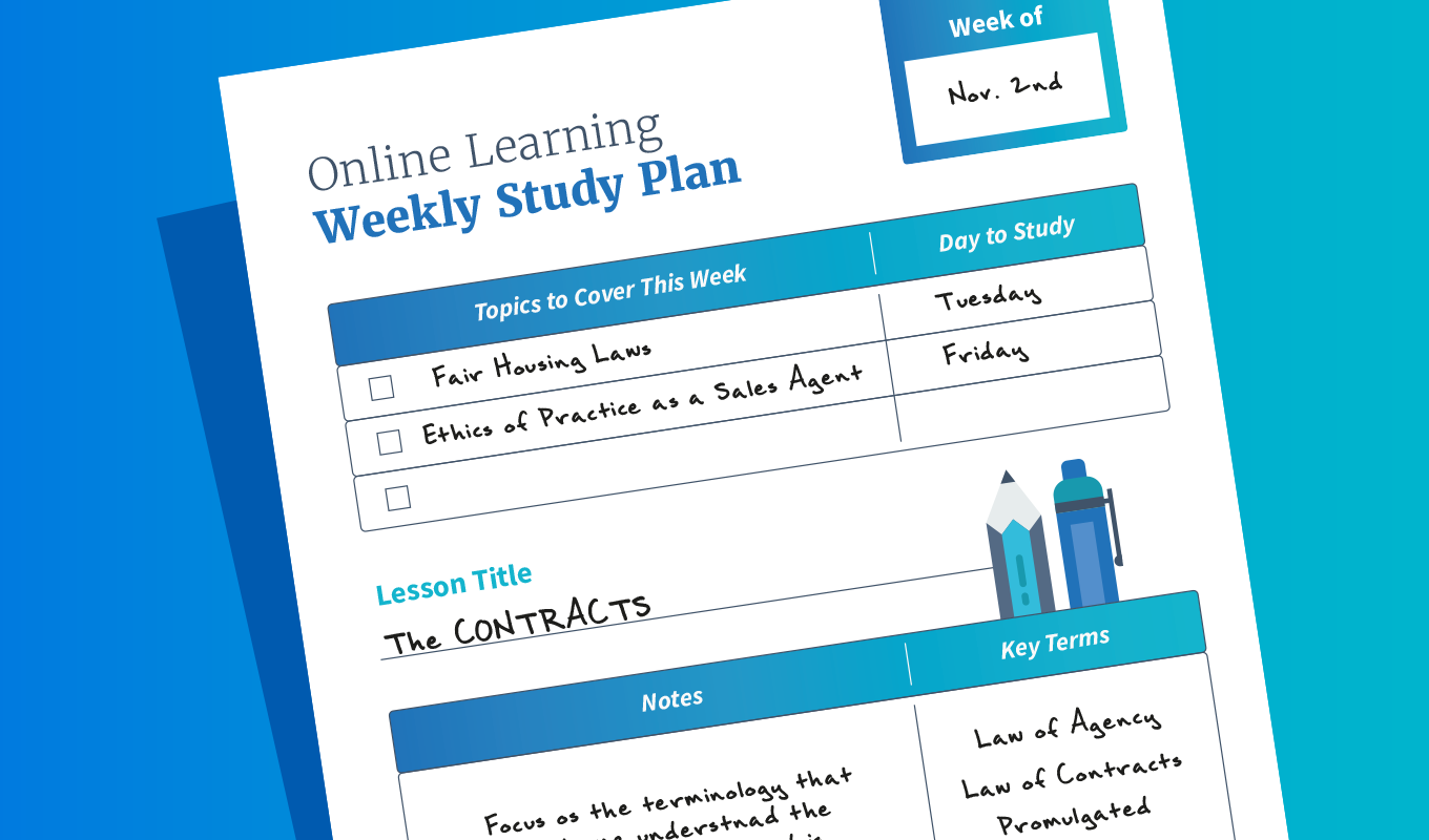 Printables to Help You Study for Online Classes